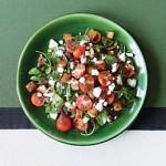 Salad : Farro, Tomato, Arugula and Feta