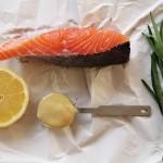 Main : Lemon-Tarragon Salmon